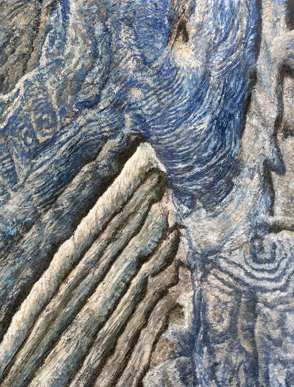 Becquerel Martian Crater by Merrilyn Duzy