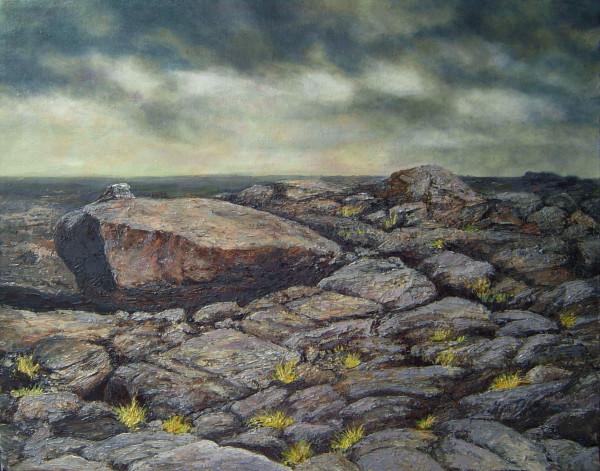 Fallen Dolmen by Merrilyn Duzy