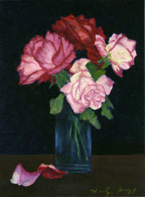 Four Roses by Merrilyn Duzy