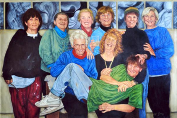Group Nine by Merrilyn Duzy