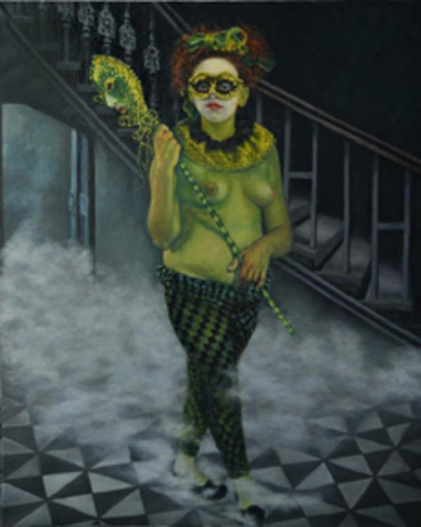 Harlequin (Lynette Davis) by Merrilyn Duzy
