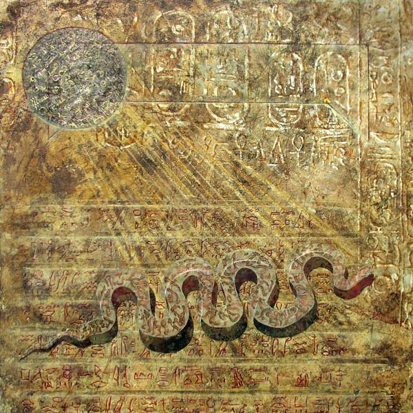 Language Palimpsest: Akhet-Khem by Merrilyn Duzy