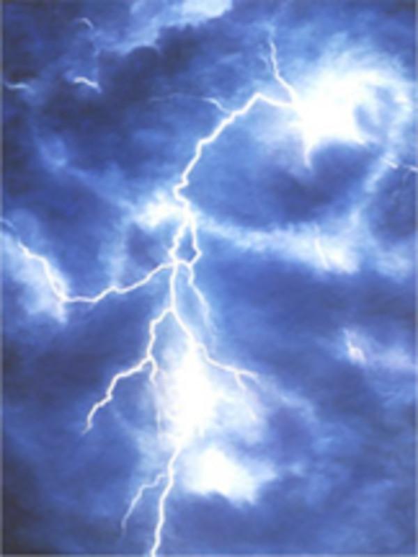 Lightning Strike by Merrilyn Duzy