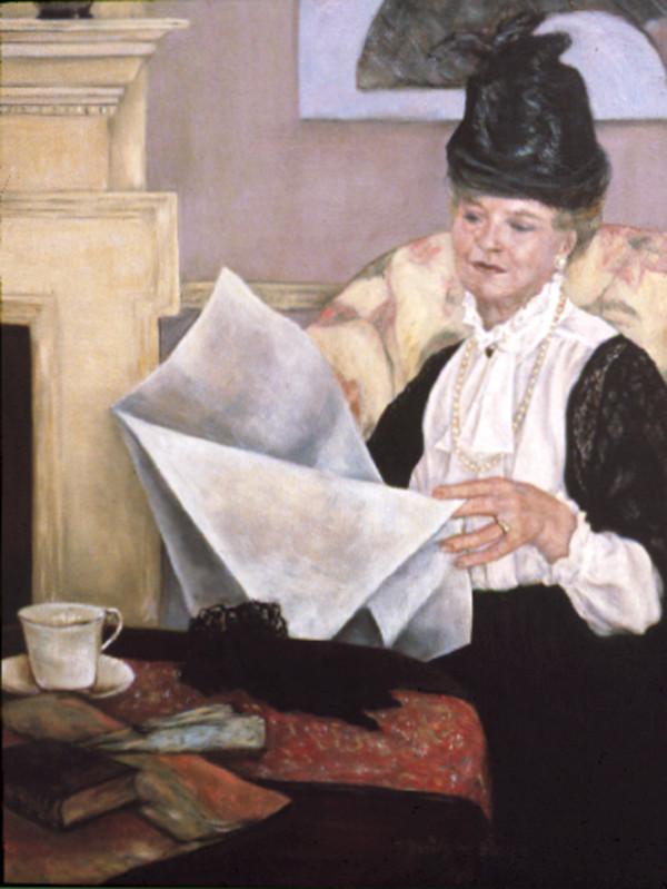Nancy Harn as Mary Casset by Merrilyn Duzy