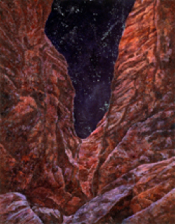 Night Canyon by Merrilyn Duzy