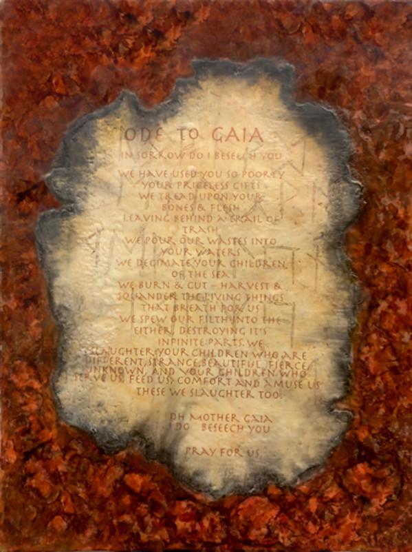 Ode to Gaia by Merrilyn Duzy