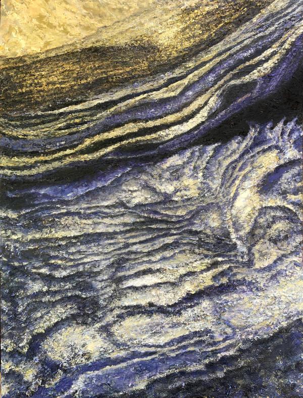 Polar Ice: Chasm Boreale Canyon by Merrilyn Duzy