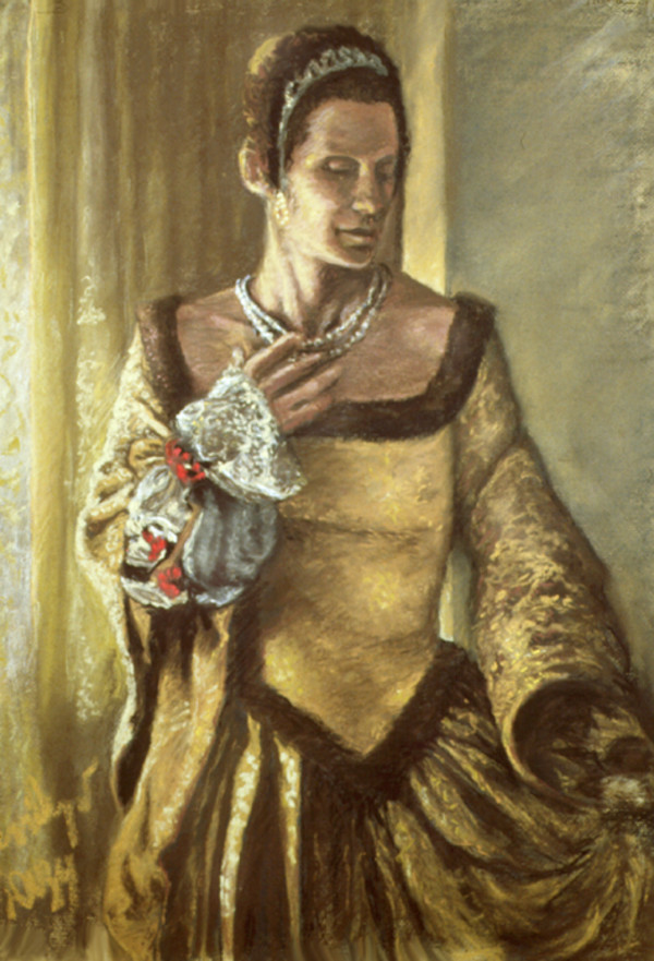 Ruth Weisberg as Sofonisba Anguissola by Merrilyn Duzy