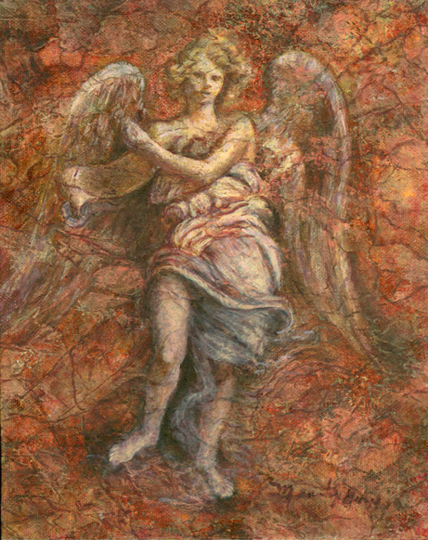 Stone Angel by Merrilyn Duzy