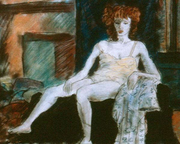 Waiting by Merrilyn Duzy