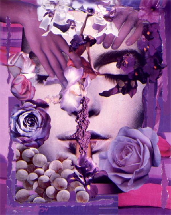 Violet Kiss by Merrilyn Duzy