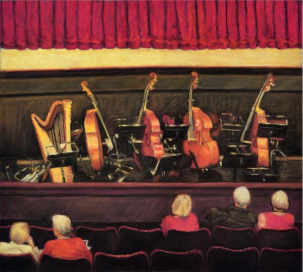 Waiting: Royal Danish Theatre by Merrilyn Duzy