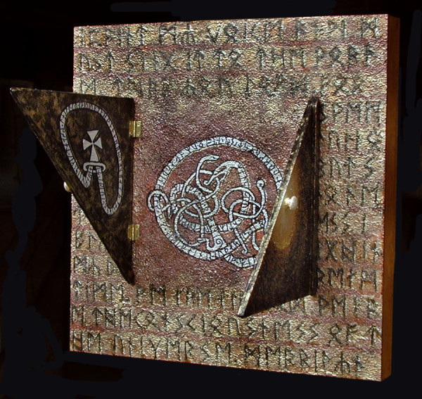 Runes & Futhark (closed & open) by Merrilyn Duzy