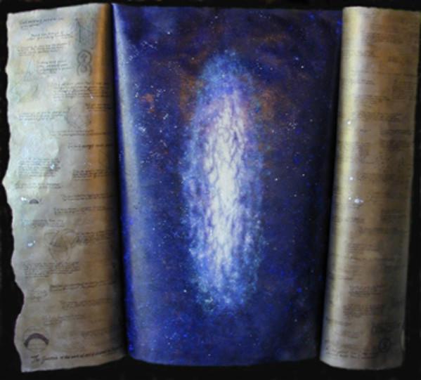 Cosmic Series #3 (Book open & closed) by Merrilyn Duzy