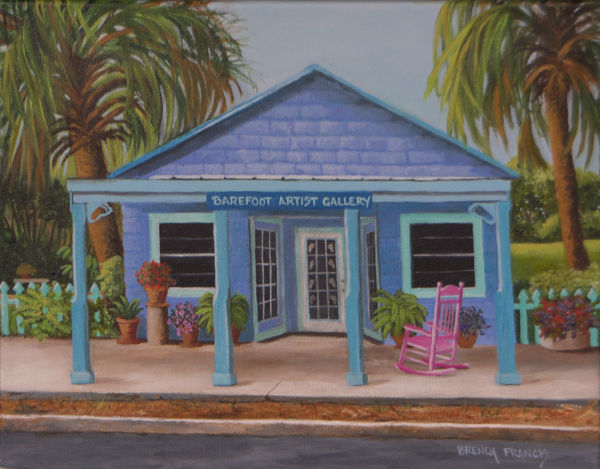 BAREFOOT ARTIST GALLERY by Brenda Francis