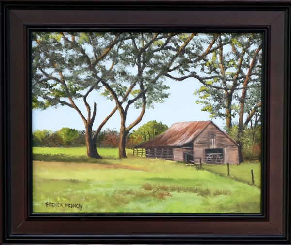 BARN ON ROAD TO DIXIE by Brenda Francis