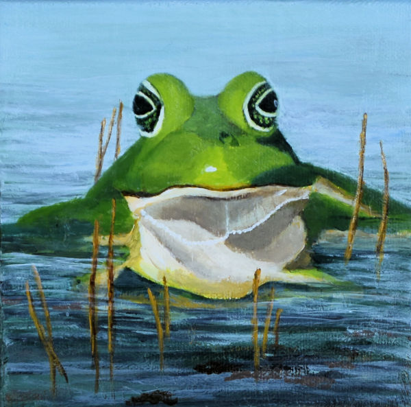 JEREMIAH WAS A BULL FROG by Brenda Francis