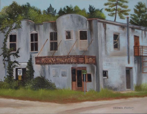 THE ROXY IN GREENVILLE by Brenda Francis