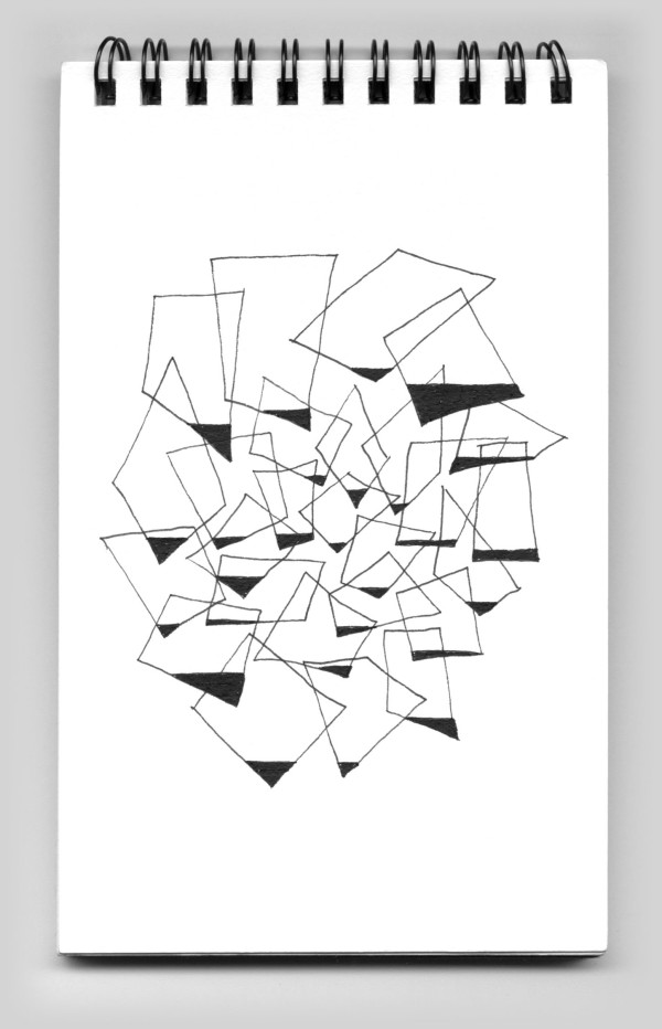 Untitled (book 31, sketch 17) by Natale Adgnot