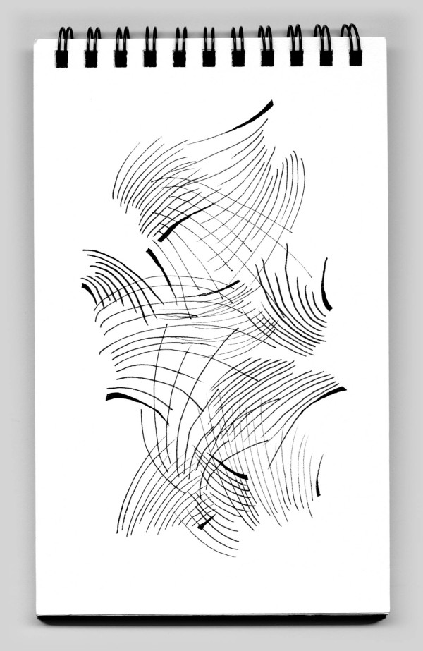 Untitled (book 32, sketch 15) by Natale Adgnot