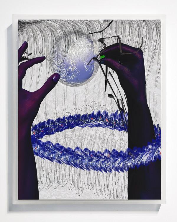 Blue Lei by Alex Fischer