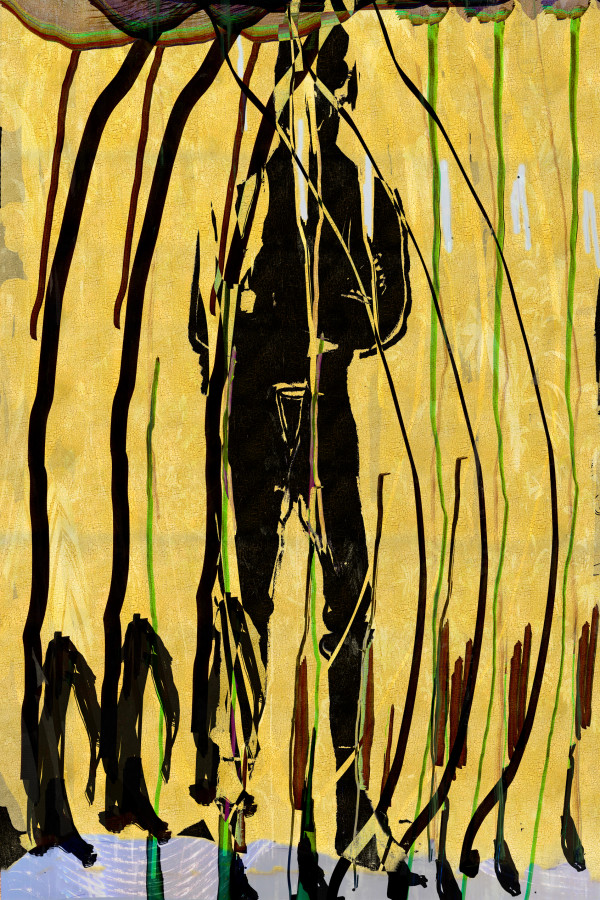 Banks See Banana Man by Alex Fischer