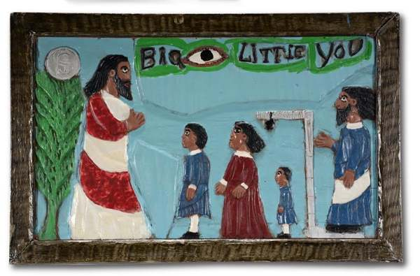 Big Eye, Little You by Elijah Pierce