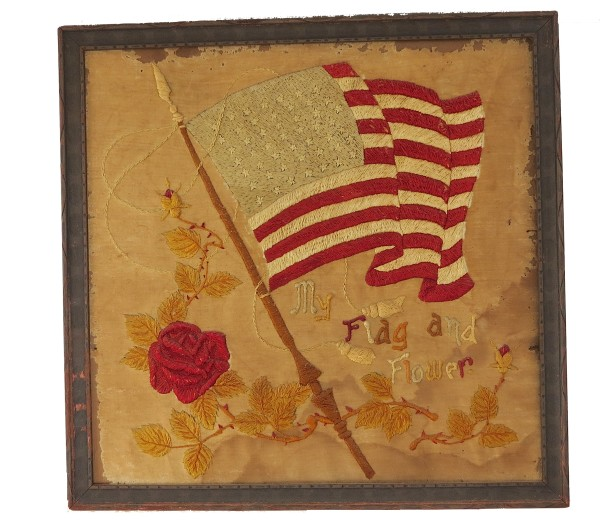 My Flag and Flower by Anonymous American