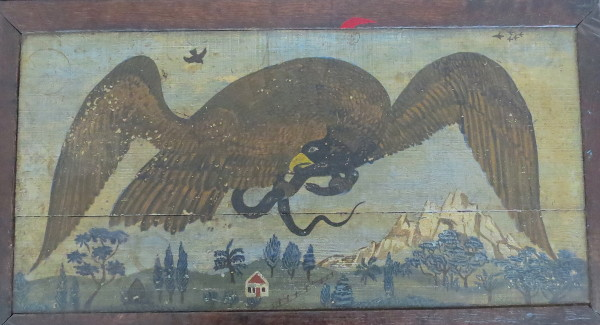 Eagle & Snake (Chest of Drawers) by Anonymous American