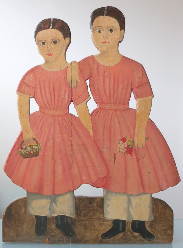 Untitled (Sisters) by Anonymous American