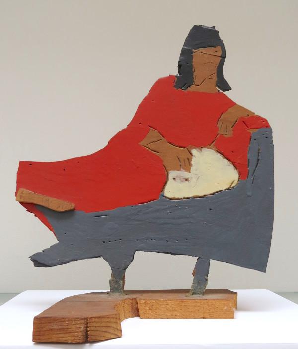 Reclining Women in Red by Steve Ashby
