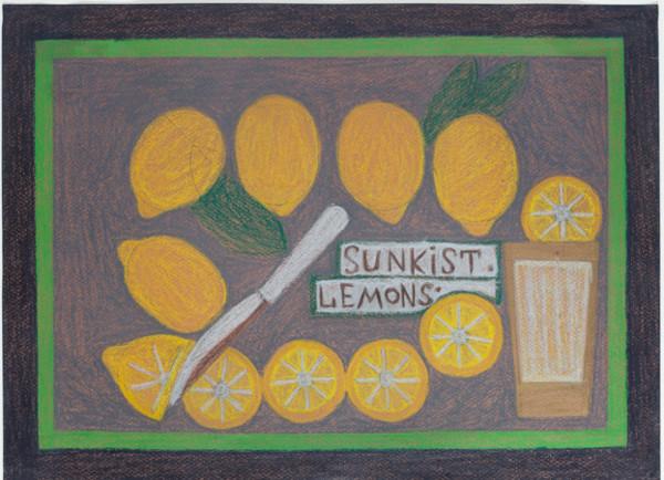 Sunkist Leamons by Eddie Arning