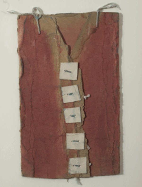 Untitled (Red Vest)(BST-022) by James Castle
