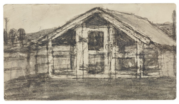 Untitled (Barn) by James Castle