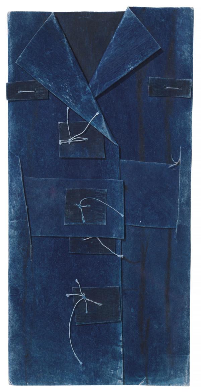 Blue Vest by James Castle