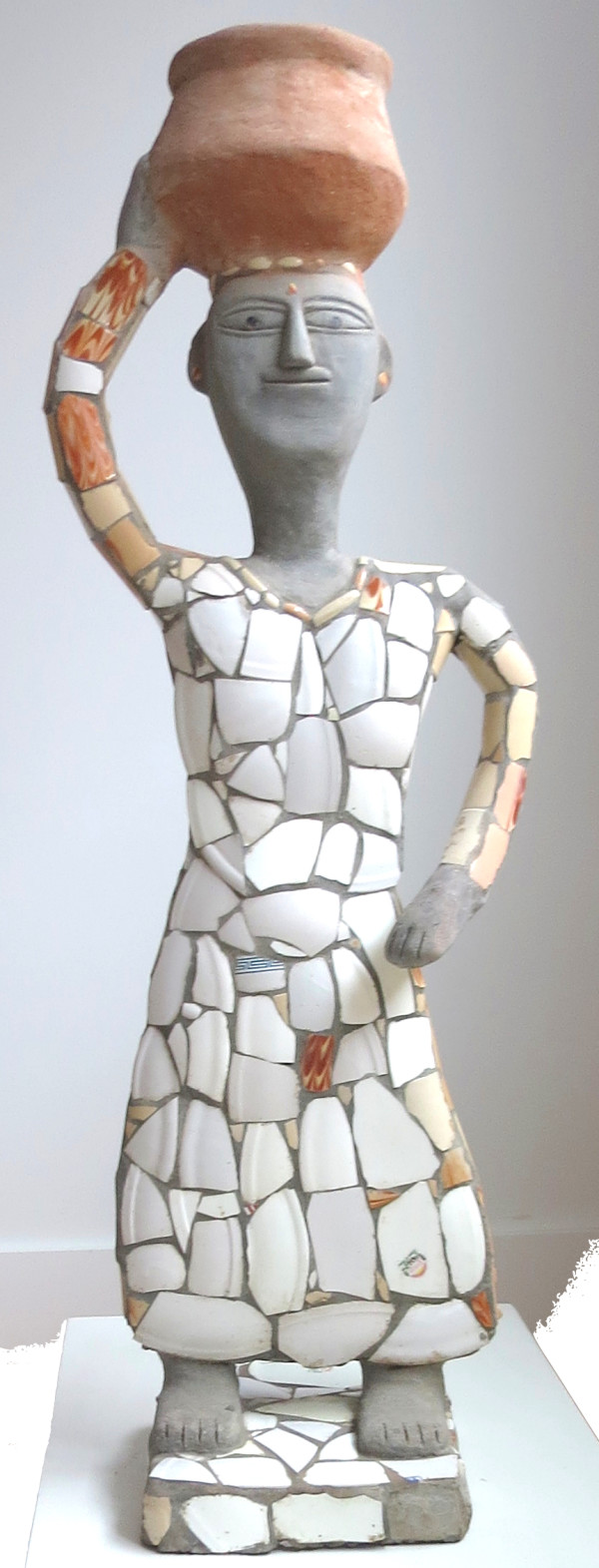 Untitled Figure by Nek Chand