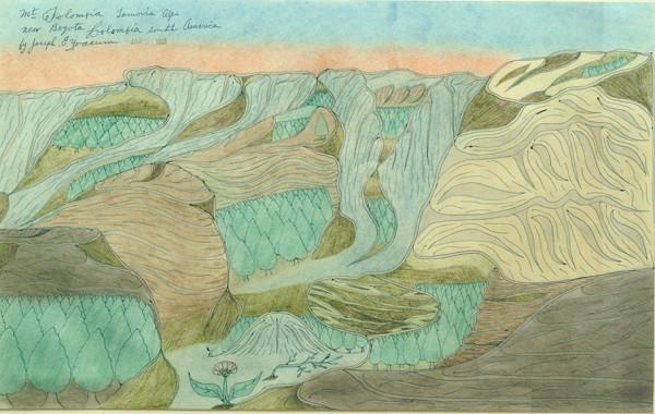 Mount Jolombia by Joseph Yoakum
