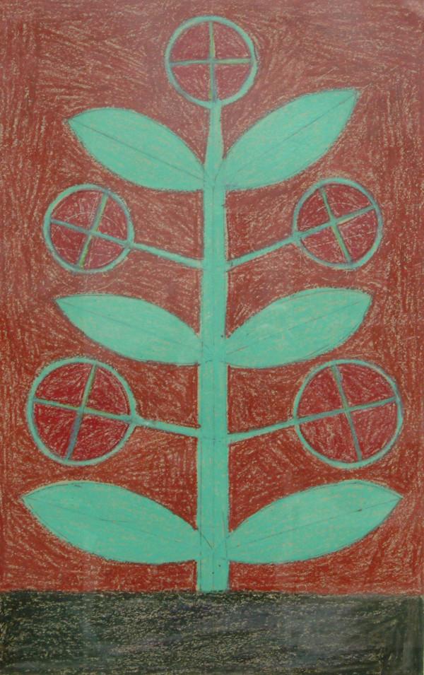 Plant by Eddie Arning