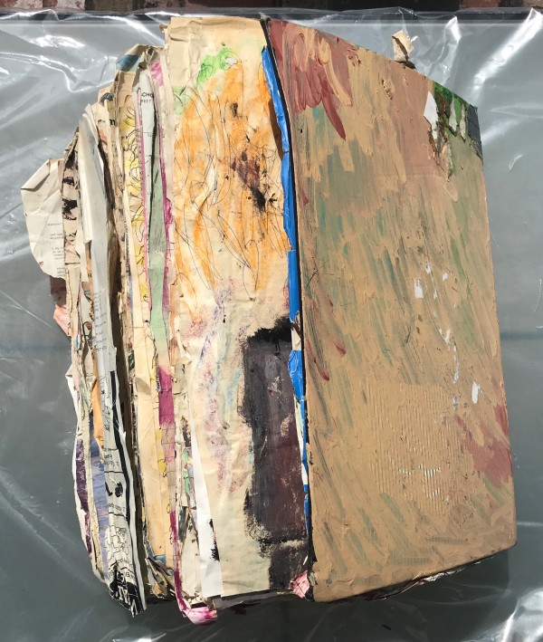 Large Book (World Atlas) by Purvis Young