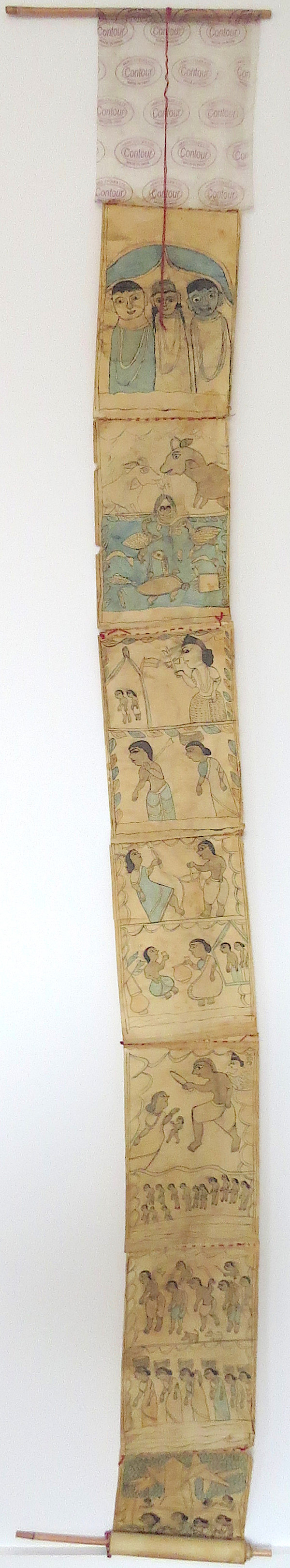 Untitled (Large Scroll) by  Anonymous Artist India