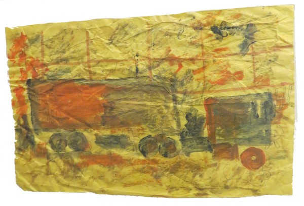 Untitled (Truck) by Purvis Young