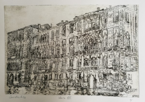 Venice VIII #1 of 5 by Sarah-Alice Miles