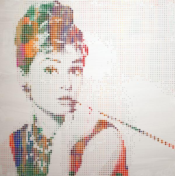 Audrey Hepburn I by Sean Christopher Ward
