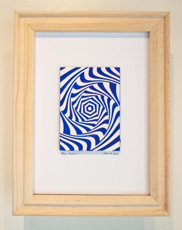 Blue Vortex by Sean Christopher Ward
