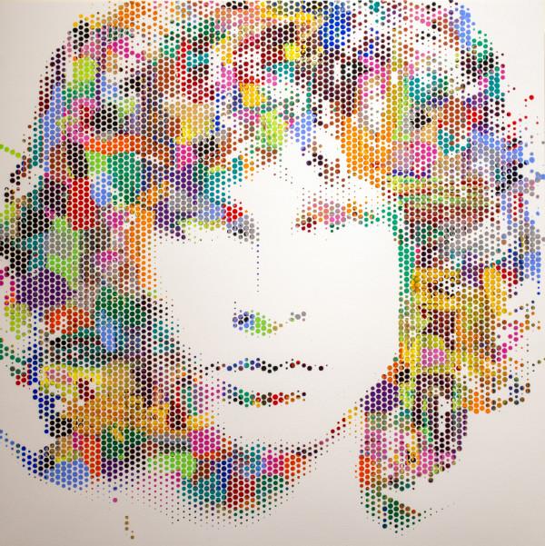 Jim Morrison I by Sean Christopher Ward
