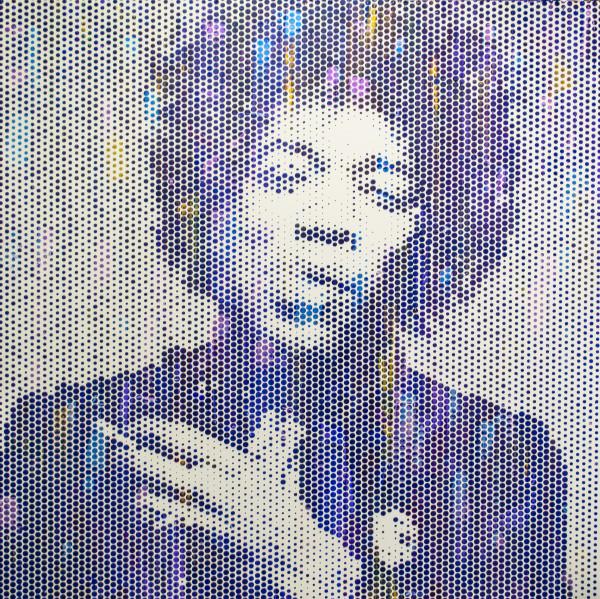 Jimi Hendrix II by Sean Christopher Ward