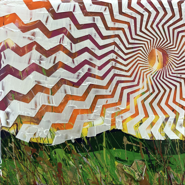 Rays on the Mountainside (Collaboration with Charles Baughman) by Sean Christopher Ward