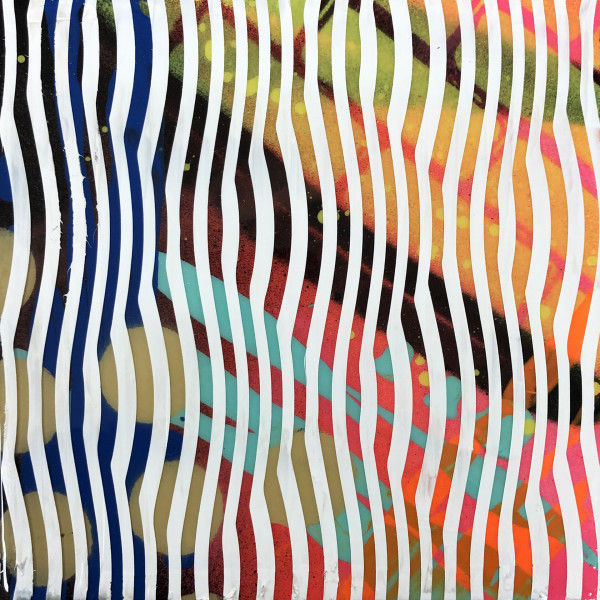 Psychedelic Bubble Wrap (Collaboration with Cornell Steele) by Sean Christopher Ward