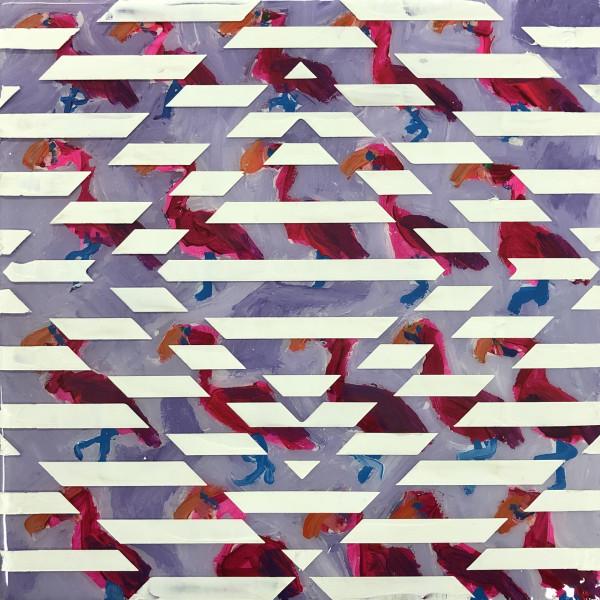 Dana Blickensderfer Collaboration - Flamingo Pattern by Sean Christopher Ward