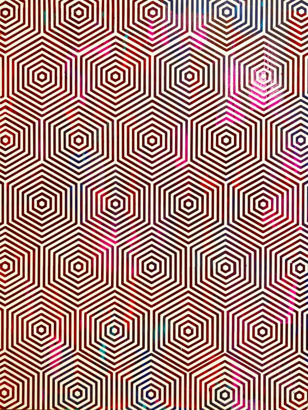 Vivid Honeycombs by Sean Christopher Ward